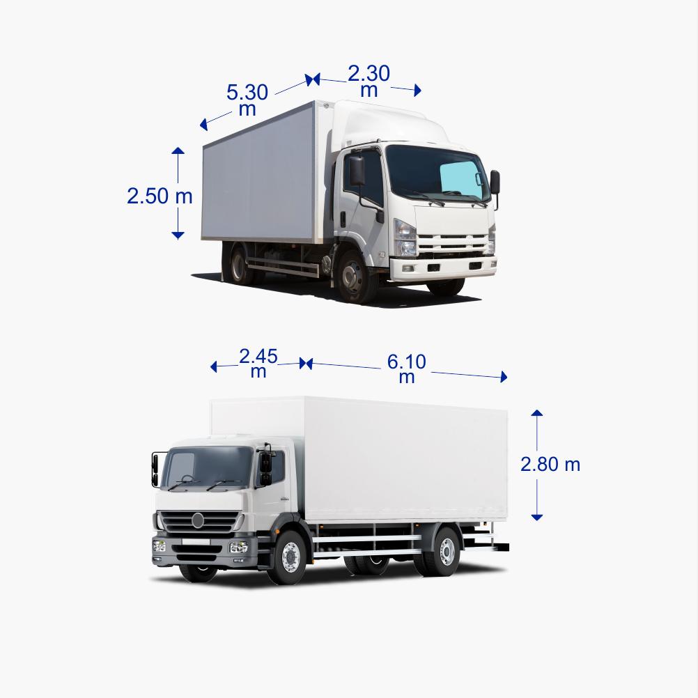 nakliyat kamyonları